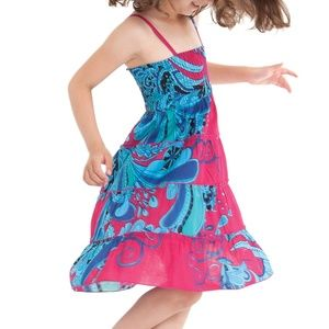 Other - NWT - Summer Floral Ruffle Dress, Size 8